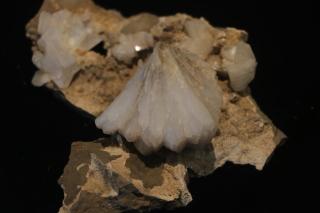 Stilbít – blaðlaga, líkist heulandíti en er hvítt og myndar nánast alltaf kristalknippi. Algeng stærð er 1-1,5 cm, en þeir geta orðið 6 cm langir og finnast oft með heulandíti.